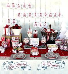 Retro Christmas Party Collection - INSTANT DOWNLOAD - Editable