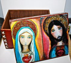 Sacred Hearts of Jesus and Mary  Original Mixed by FlorLarios