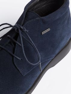 9ffa867bd7f Geox Waterproof Suede Chukka Boots in Navy - A Suede chukka boot is the off-