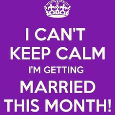 Happy New Month guys! For all those getting married in September we're rooting for you! Have fun and send us pictures of your big day. (Tag a September bride or groom)