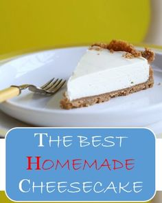 🎂🎂🎂 THE BEST HOMEMADE CHEESECAKE #cake #food #chocolate - My recipes Homemade Cheesecake, Cheesecake Cake, Cheesecake Recipes, Dessert Recipes, Desserts, Pie Recipes, Easy Recipes, Best Chicken Marinade, Southern Buttermilk Biscuits