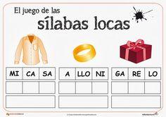 silabas locas para imprimir - Cerca amb Google