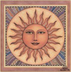 Beige sun fabric. by Dan Morris