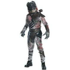 Costumes — Absolutely Prehistoric | Stars and Dinosaurs | Prehistoric Costumes| Caveman and Spaceman Costumes: Predator 2010 Adult Costume $104.99