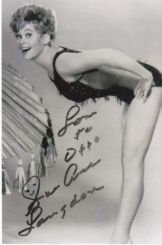 Phrase confirm. actress sue ane langdon nude seems, will