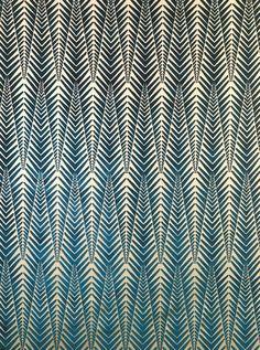 Neisha Crosland - Fabric Collection 1 - Zebra - Silver Blue