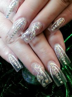Clear nails