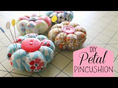 How to Make a Petal Pincushion! - YouTube