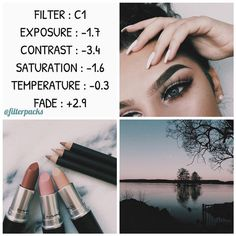 """Pinterest: @startariotinme vsco filters on Instagram: """"REQUESTED FREE FILTER So this is a highly requested filter! This adds a desaturated but clean to look to all pictures !"""