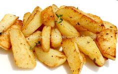 Patate croccanti in padella - Crispy potatoes in skillet - ricetta facile il mio saper fare
