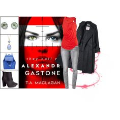 Book Look: They Call Me Alexandra Gastone By T.A. Maclagan by xmikky on Polyvore featuring ONLY, H&M, Barneys New York and Meredith Leigh