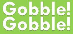 Gobble, Gobble!  Happy Thanksgiving! Happy Thanksgiving, Thankful, Entertainment, Children, Books, Happy Thanksgiving Day, Young Children, Boys, Libros