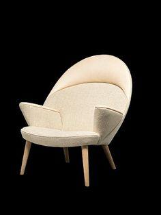 For the celebration of Hans J Wegner's Anniversary, PP Møbler launch upholstered Peacock Chair designed in