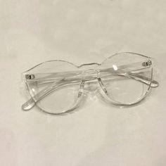 Vintage Rimless Transparent Shades Lens Height: 54mm Lens Width: 58mm Frame Material: Plastic