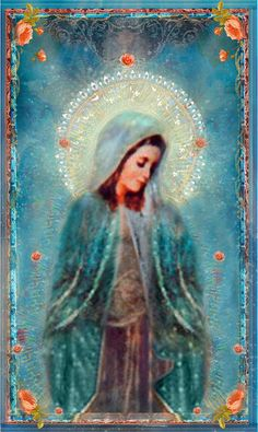Holy Mother Poster Print by pocketfullofmiracles on Etsy, via Etsy.