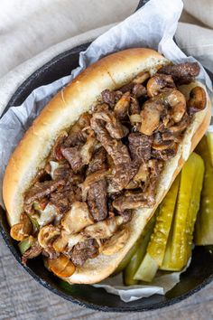 Easy Philly Cheesesteak Recipe (Ultimate Guide) – Momsdish Easy Philly Cheesesteak- Gooey, meaty and melty, a Philly Cheesesteak sandwich is delicious in its simplicity. Cuban Pork Sandwich, Steak Sandwich Recipes, Gourmet Sandwiches, Sandwiches For Lunch, Best Sandwich, Wrap Sandwiches, Steak Recipes, Cooking Recipes, Steak Sandwiches