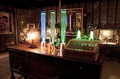 steampunk laboratory - Google Search