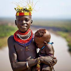 Karo girl - Ethiopia [photo credit: Steven Goethals]