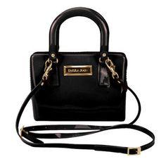 Bolsa Mini Bag Petite Jolie Transversal Preto Londres PJ1241 www.aslita.com.br
