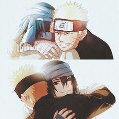 Sasuke Uchiha and Naruto Uzumaki    Naruto The Movie: The Last