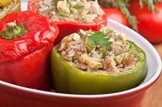 Γεμιστές πιπεριές με κιμά