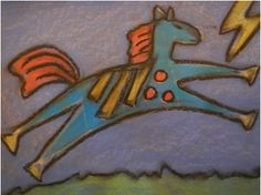 Native American Art and Craft Ideas for the multicultural classroom and home school teachers. North American Animals, Native American Horses, Native American Drawing, First Grade Art, Third Grade, Animal Art Projects, Drawing Activities, Multicultural Classroom, Art Lessons For Kids