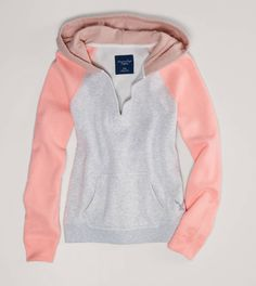AE Colorblock French Terry Hoodie