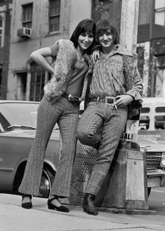 Sonny & Cher - iconic couple of the 1960s - Cher is 16 in this photo!