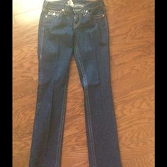 True Religion Jeans True Religion Jeans with Rhinestones on pockets!!!! True Religion Jeans
