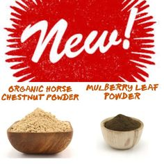 New Product Alert  We are always looking for healthy ways to boost our smoothies and juices. Come try the newest products @freshtwistedcafe ! Organic Horse chestnuts have been used in traditional medicine as a remedy for many health problems particularly to improve leg vein function. Organic horse chestnut powder contains a component called aescin which has been shown to promote normal tone in the walls of the veins. This in turn improves circulation through the veins and promotes the return…