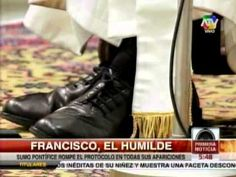 Papa Francisco ha sorprendido con sus muestras de humildad