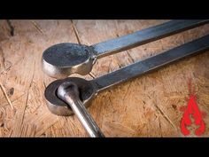 Forging a scroll wrench or bending fork - blacksmith tools - YouTube