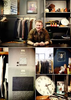 A Man in His Office: Designer Todd Snyder - Todd Snyder Office Tour - Esquire Mens Office Fashion, Mens Fashion, Man Office, Todd Snyder, Esquire, Fashion Advice, Latest Fashion Trends, Quotes, Design