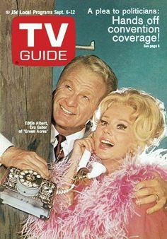 1960s Tv Shows, Old Tv Shows, Eva Gabor, Vintage Television, Tv Land, Old Magazines, Tv Episodes, Vintage Tv, Tv Guide