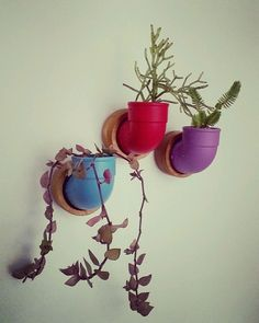 Vasinho de parede feito com madeira impermeabilizada. Utiliza um pequeno vaso feito com um joelho de PVC de 40 mm, pintada com tinta spray em várias cores a sua escolha - verde turquesa, amarelo, vermelho, preto, lilás, roxo, azul claro, azul escuro e prata. A base é feita de madeira pinus, impermeabilizada com medidas de 7 x 7 cm. Um presente bonito e charmoso! Além de extremamente original! Monte um painel de tubinhos em sua parede e tenha o jardim vertical mais original da cidade! Ideal…