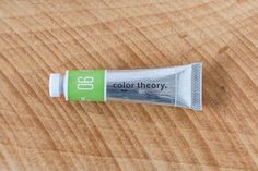 Color Theory Acrylic: Yes Peas at @studio_calico