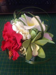 Тропический букетик Clay, Deco, Plants, Clays, Decor, Deko, Plant, Decorating, Decoration