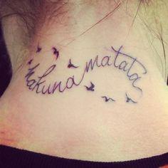 hakuna matata tattoo - Buscar con Google