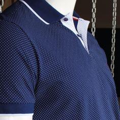 Camisa polo com padronagem tradicional da nova linha Yas Marine da Individual. Venha conhecer a linha completa. #CamisaPolo #DetalhesIndividual #YasMarinaCollection #RadicalChic