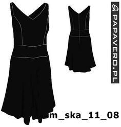 Gotowy wykrój - sukienka dla Rosmel