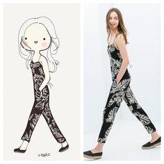 Zara Spring Jumpsuit! catplusmouse