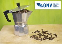 Italian coffeemaker, with fresh coffee beans  Reach Italy with http://www.gnv.it/