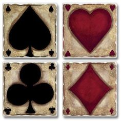 Ante Up Set Of 4