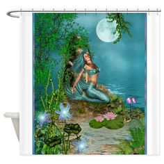 Best Seller Merrow Mermaid Shower Curtain on CafePress.com