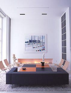 Modern interiors by Jeffrey Thrasher Design