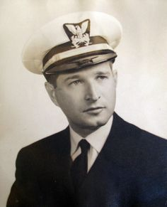 Capt. Ed Lyman of Venice is pictured in his Army uniform during World War II. He served in Army Floating Transportation and wore a uniform with an anchor on his sleeve that more closely resembled Navy  dress. Photo provided.