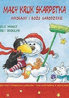 Okładka książki Mały kruk Skarpetka. Mikołajki i Boże Narodzenie
