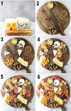 How to Make an Epic Holiday Cheese Board in just 10 minutes! The best cheeses to. - How to Make an Epic Holiday Cheese Board in just 10 minutes! The best cheeses to buy and how to fil - Charcuterie Recipes, Charcuterie And Cheese Board, Charcuterie Platter, Cheese Boards, Meat Cheese Platters, Cheese Platter Board, Antipasto Platter, Cheese Plates, Crudite Platter Ideas