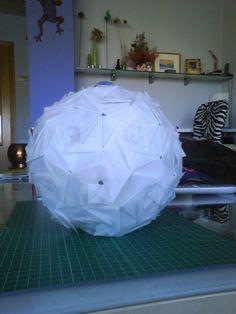 Diy: La lámpara de Origami de Pelos de Colores : x4duros.com