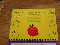 Katie's Nesting Spot: Handprint Calendar